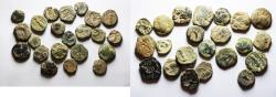 Ancient Coins - NICE QUALITY LOT OF 22 NABATAEAN BRONZE COINS