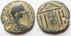 Ancient Coins - Decapolis. Gadara under Elagabalus (AD 218-222). AE 27 mm, 8.95g. Struck in civic year 281 (AD 217/18).
