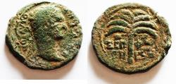 Ancient Coins - JUDAEA. SEPPHORIS . TRAJAN AE 25