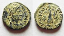 Ancient Coins - ROMAN AE 4
