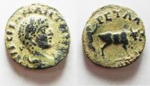 Ancient Coins - AS FOUND. ORIGINAL DESERT PATINA. ARABIA. PETRA. ELAGABALUS AE 20