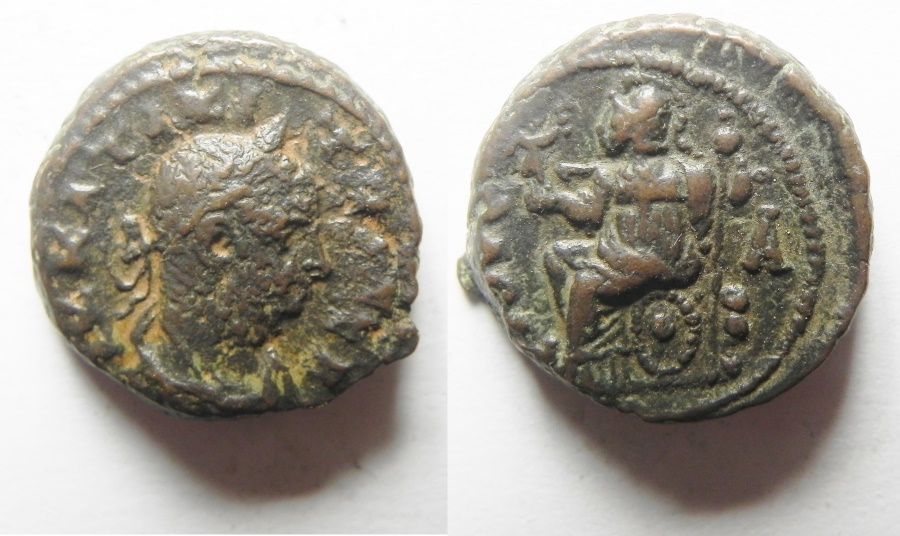 Ancient Coins - EGYPT. ALEXANDRIA. TACITUS POTIN TETRADRACHM