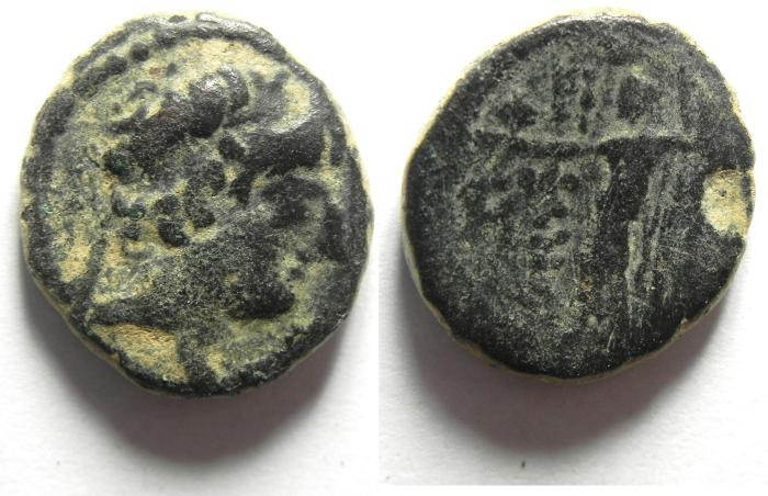 Ancient Coins - THE SELEUKID KINGDOM: ANTIOCHOS XII. Circa 88-84 BC , AE 18