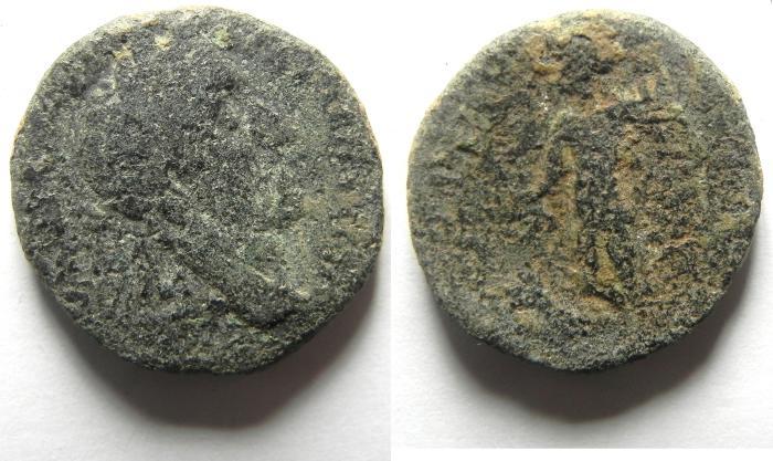 Ancient Coins - JUDAEA , AELIA CAPITOLINA AE 22 , ANTONINU PIUS
