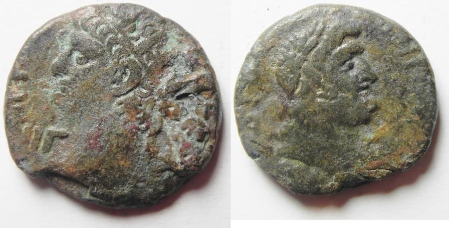 Ancient Coins - Egypt, Alexandria. Nero. 54-68 AD. BI Tetradrachm