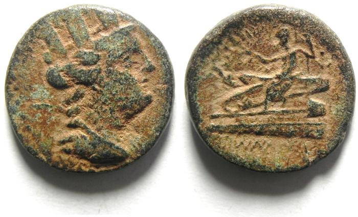 Ancient Coins - Phoenicia, Arados, AE21, 132-131 BC, NICE