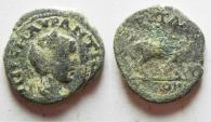 Ancient Coins - ARABIA. PETRA . ELAGABALUS AE 21