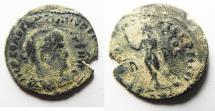 Ancient Coins - DOUBLE STRUCK CONSTANTINE II AE FOLLIS. AS FOUND