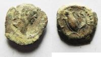 Ancient Coins - EGYPT. ALEXANDRIA. TRAJAN AE DICHALKON