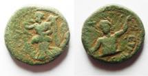 Ancient Coins - Syria, Seleukis and Pieria. Leukas-Claudia (Balanea). First-second century AD, AE 17