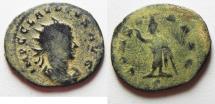 Ancient Coins - ORIGINAL DESERT PATINA: CLAUDIUS II GOTHICUS AE ANTONINIANUS