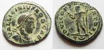 Ancient Coins - LICINIUS II AE FOLLIS. RARE!