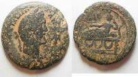 Ancient Coins - EGYPT. ALEXANDRIA. ANTONINUS PIUS AE DRACHM