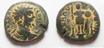 Ancient Coins - Arabia. Rabbathmoba under Septimius Severus (AD 193-211). AE 27mm