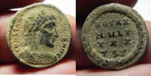 Ancient Coins - CONSTANTINE I AE 3 . AS FOUND