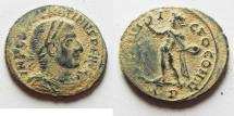 Ancient Coins - AS FOUND : CONSTANTINE I AE FOLLIS