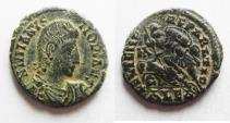 Ancient Coins - CONSTANTIUS GALLUS AE 3 . ALEXANDRIA MINT