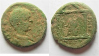 Ancient Coins - ARABIA. PETRA. GETA AE 22