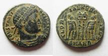 Ancient Coins - 	CONSTANTINE I AE 3 .