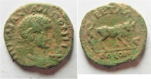 Ancient Coins - ARABIA. PETRA. ELAGABALUS AE 23MM. 6.25GM