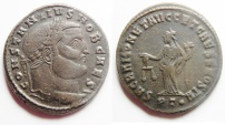 Ancient Coins - BEAUTIFUL CONSTANTIUS I AE FOLLIS