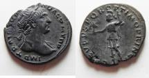 Ancient Coins - BEAUTIFUL AS FOUND TRAJAN SILVER DENARIUS
