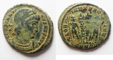 Ancient Coins - CONSTANTINE I AE 3. CONSTANTINOPLE