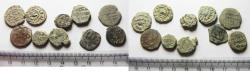 Ancient Coins - AS FOUND: LOT OF 10 ISLAMIC BRONZE COINS