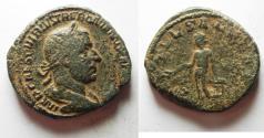 Ancient Coins - Roman Empire Trebonianus Gallus SESTERTIUS 251-253 AD