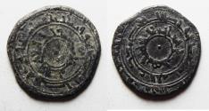 World Coins - FATIMID SILVER 1/2 DIRHAM
