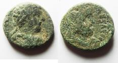 Ancient Coins - JUDAEA. CAESAREA MARITIMA. MARCUS AURELIUS AE 23