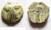 Ancient Coins - NABATAEAN KINGDOM. ARETAS II / III AE 16