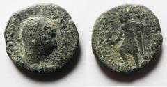Ancient Coins - JUDAEA, Caesarea Maritima. Trajan Decius. AD 249-251. Æ  25
