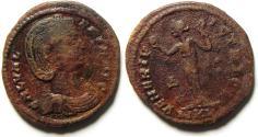 Ancient Coins - Galeria Valeria AE Follis. Struck 309-310 AD , Heraclea MINT