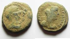 Ancient Coins - ARABIA. PETRA. HADRIAN AE 20. AS FOUND