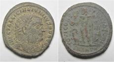 Ancient Coins - LICINIUS I AE FOLLIS. CHOICE AS FOUND