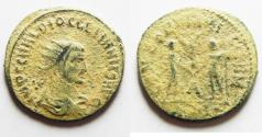 Ancient Coins - DIOCLETIANUS AE ANTONINIANUS. NICE AS FOUND