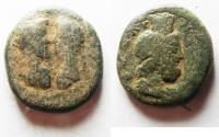 Ancient Coins - Judaea. Aelia Capitolina under Marcus Aurelius and Lucius Verus (AD 161-169). AE 26