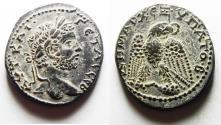 Ancient Coins - CHOICE QUALITY: SELEUCIS and PIERIA, Antioch. Geta. AD 209-211. AR Tetradrachm