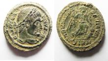 Ancient Coins - BEAUTIFUL AS FOUND CONSTANTINE I AE 3 . RARE!