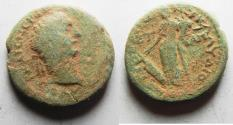 Ancient Coins - JUDAEA. GALILEE. TIBERIAS UNDER TRAJAN AE 27