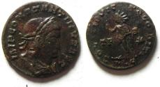 Ancient Coins - NICE CONSTANTINE I AE FOLLIS , LYONS