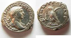 Ancient Coins - RARE: SELEUCIS and PIERIA, Antioch. Trajan. AD 98-117. AR Didrachm. Struck AD 100.