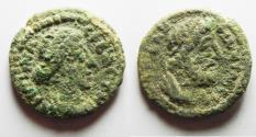 Ancient Coins - DECAPOLIS. GADARA. CRISPINA AE 21