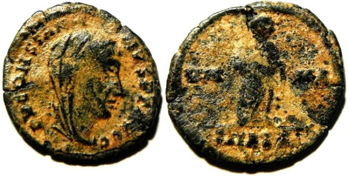 Ancient Coins - CONSTANTINE I AE 3 , POSTHUMOUS ISSUE
