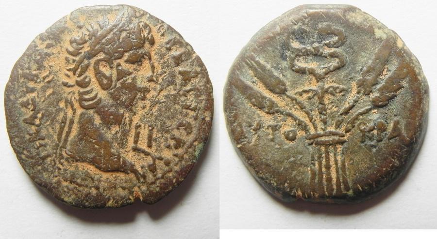 Ancient Coins - EGYPT. ALEXANDRIA. Claudius  AD 41-54. AEDiobol