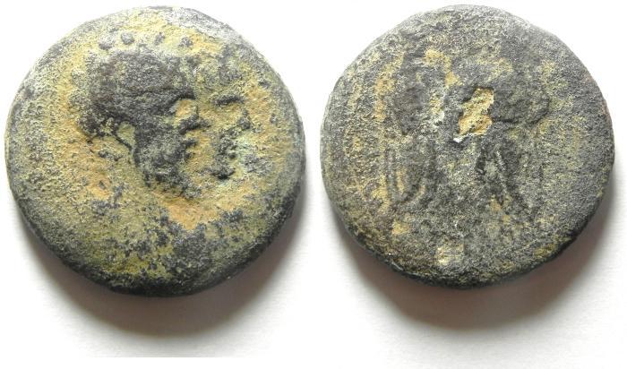 Ancient Coins - Roman Provincial. AE 31. Judaea. Aelia Capitolina. Under Septimius Severus (AD 193-211).