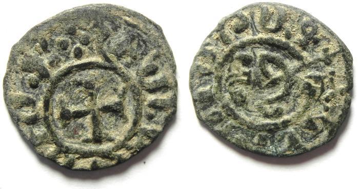 World Coins - CRUSADER , ARMENIA AE 21