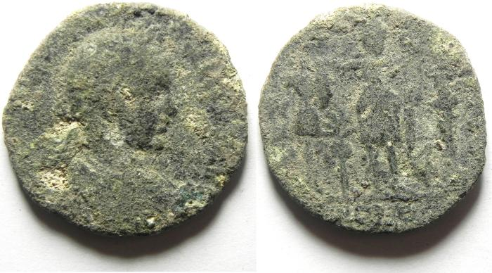 Ancient Coins - PHOENICIA , TYRE , ELAGABALUS AE 29 AS FOUND