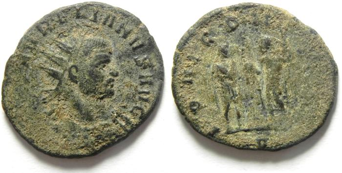 Ancient Coins - AURELIAN ANTONINIANUS , NICE AS FOUND